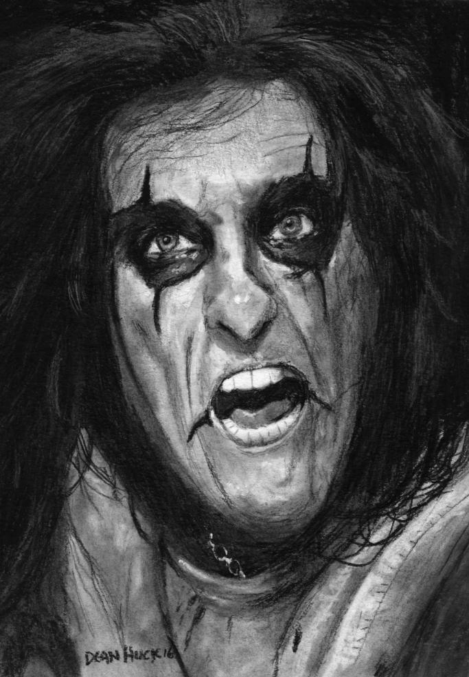 Alice Cooper por DHWallArtist
